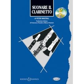WASTALL SUONARE CLARINETTO + 2CD