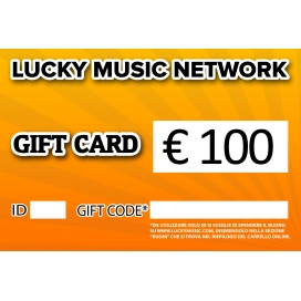 GIFT CARD LUCKY 100€