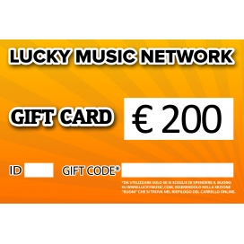 GIFT CARD LUCKY 200€