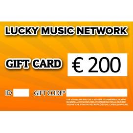 GIFT CARD LUCKY 200€