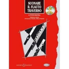 WASTALL SUONARE FLAUTO TRAVERSO + 2CD