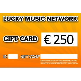 GIFT CARD LUCKY 250€