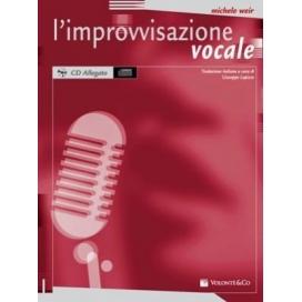 WEIR IMPROVVISAZIONE VOCALE + CD