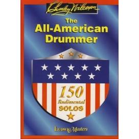 WILCOXON ALL AMERICAN DRUMMER 150 RUDIMENTAL SOLO MK11845
