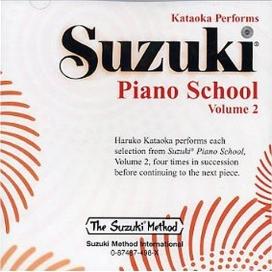 SUZUKI PIANO SCHOOL - VOLUME 2