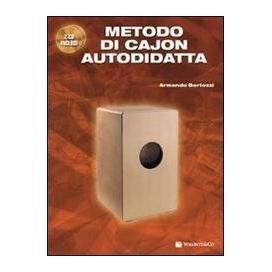 BERTOZZI METODO CAJON AUTODIDATTA + CD E DVD