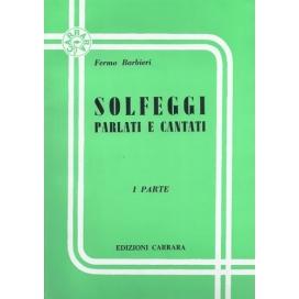 BARBIERI SOLFEGGI PARLATI E CANTATI V.1