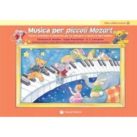 BARDEN MUSICA PER PICCOLI MOZART LEZIONI VOLUME 1