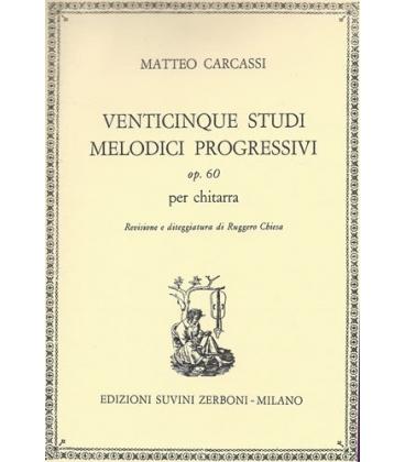 CARCASSI 25 STUDI MELODICI OPERA 60