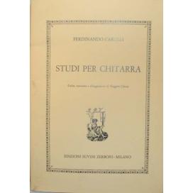 CARULLI STUDI PER CHITARRA (CHIESA)