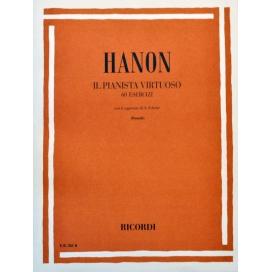 HANON IL PIANISTA VIRTUOSO 60 ESERCIZI CON AGGIUNTE SCHOTTE