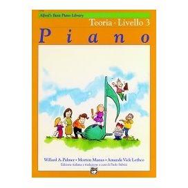 PALMER/MANUS CORSO PIANO TEORIA LIVELLO 3 MB112