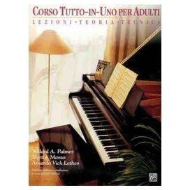 PALMER/MANUS CORSO TUTTO IN UNO PIANOFORTE PER ADULTI LIV 1