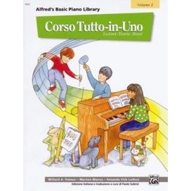 PALMER/MANUS CORSO TUTTO IN UNO PIANOFORTE LIV.2 MB106