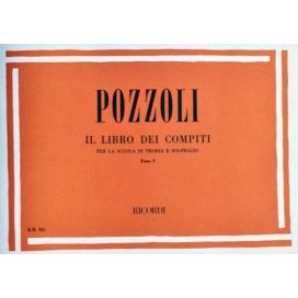 POZZOLI LIBRO COMPITI PER SCUOLA TEORIA E SOLFEGGIO 1