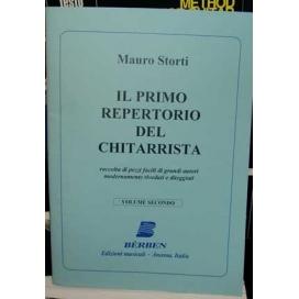 STORTI IL PRIMO REPERTORIO DEL CHITARRISTA VOLUME 2