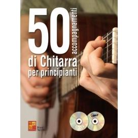 TAZZINO 50 ACCOMPAGNAMENTI CHITARRA PRINCIPIANTI +CD +DVD