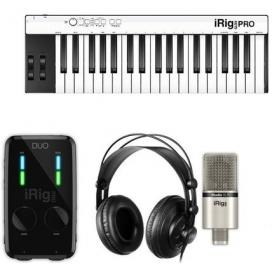 IK Multimedia iRig Pro Duo Studio Suite Deluxe bundle