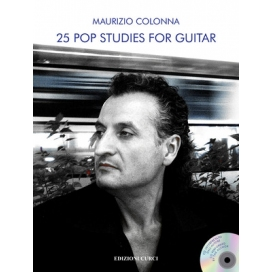 COLONNA 25 POP STUDIES FOR GUITAR