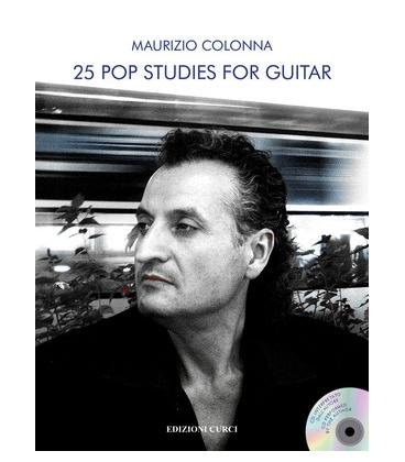 COLONNA 25 POP STUDIES FOR GUITAR