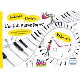 CAPRIOTTI L'ORA DI PIANOFORTE VOLUME 1