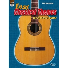 FIORENTINO EASY CLASSICAL GUITAR THEMES + CD ML3367
