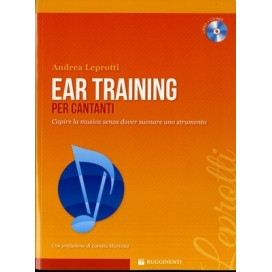 LEPROTTI EAR TRAINING PER CANTANTI + CD