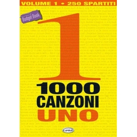 AAVV 1000 CANZONI VOLUME 1 ML2714