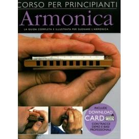 AAVV CORSO PRINCIPIANTI DI ARMONICA + DOWNLOAD CARD E ARMONICA