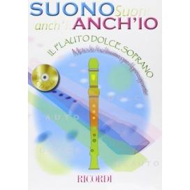 AAVV SUONO ANCH'IO: IL FLAUTO DOLCE + CD