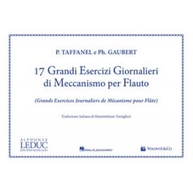 TAFFANEL/GAUBERT 17 GRANDI ESERCIZI GIORNALIERI PER FLAUTO