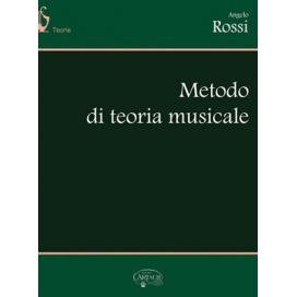 ROSSI ANGELO METODO DI TEORIA MUSICALE