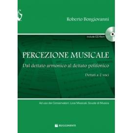 BONGIOVANNI PERCEZIONE MUSICALE + CD ROM