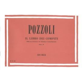 POZZOLI LIBRO COMPITI PER SCUOLA TEORIA E SOLFEGGIO 2