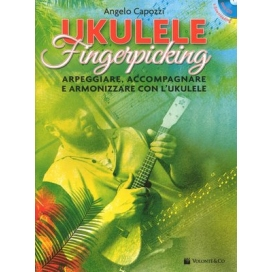 CAPOZZI UKULELE FINGERPICKING + CD