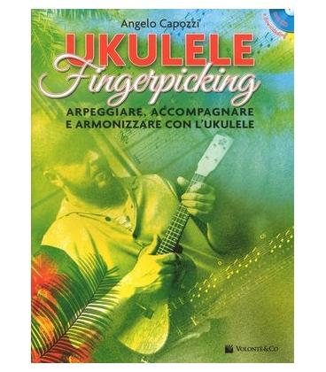 CAPOZZI UKULELE FINGERPICKING + CD MB704