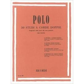 POLO 30 STUDI A CORDE DOPPIE PER VIOLINO
