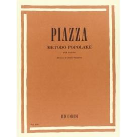 PIAZZA METODO POPOLARE PER FLAUTO