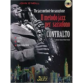 O'NEILL METODO JAZZ PER SAX CONTRALTO + CD