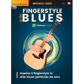 LIDEO FINGERSTYLE BLUES - CHITARRA FACILE + VIDEO ON DEMAND