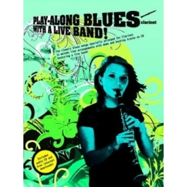 AAVV PLAY ALONG BLUES LIVE BAND + CD CLARINETTO