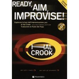 CROOK READY, AIM, IMPROVISE! + DVD