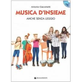 GIACOMETTI MUSICA D'INSIEME + DVD