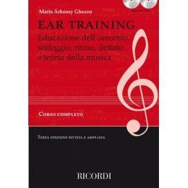 GHEZZO EAR TRAINING CORSO COMPLETO TERZA EDIZIONE + 2CD