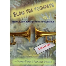 PIANA/BRUSCO BLOW THE TRUMPET VOLUME 1 + 2 CD
