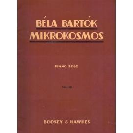 BARTOK MIKROKOSMOS VOLUME 3