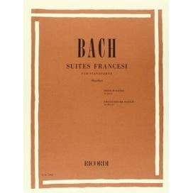 BACH SUITES FRANCESI PER PIANOFORTE (MUGELLINI)