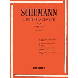 SCHUMANN ALBUM PER LA GIOVENTU' OPERA 68