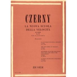 CZERNY LA NUOVA SCUOLA DELLA VELOCITA' 30 STUDI OPERA 834