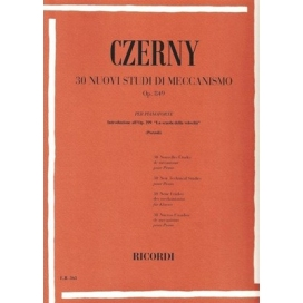 CZERNY 30 NUOVI STUDI DI MECCANISMO OP. 849 (POZZOLI)